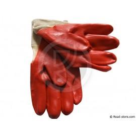 Gloves PVC hydrocarbon Size 9