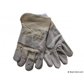 GANTS MANUTENTION LEGERE PAUME CUIR RENFORCE T.10