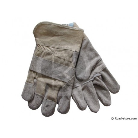 GANTS MANUTENTION PAUME CUIR TAILLE 10