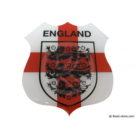 "Self-adesive embossed sticker ""ENGLAND"""