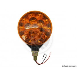 FEU ESPAGNOL 32 LEDS 24V ORANGE/ORANGE DIAM. 10CM