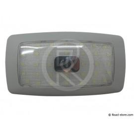 Extra Flache Deckenleuchte Weiß 24V 34-LED (13,5x7x1cm)
