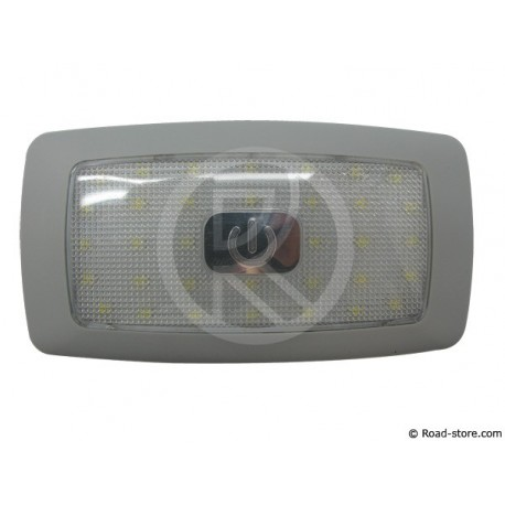PLAFONNIER EXTRA PLAT 34 LEDS 24V BLANC (13,5x7x1cm)