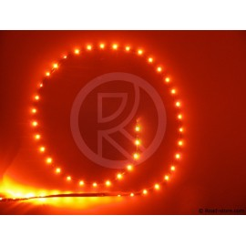 BANDE FLEXIBLE ADH. 54 LEDS 90CM 12V ROUGE