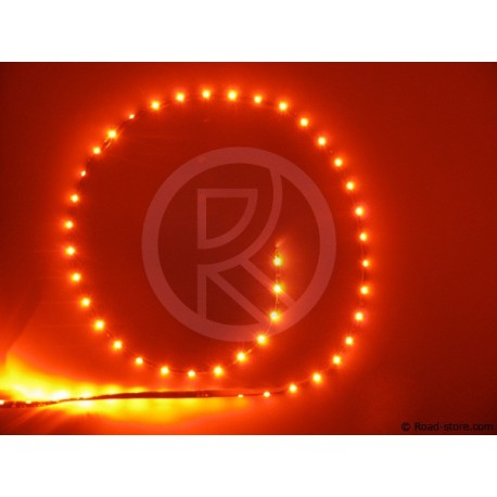 LED-Flexibel Streifen ROT - 90 cm - 54 LED - 24V