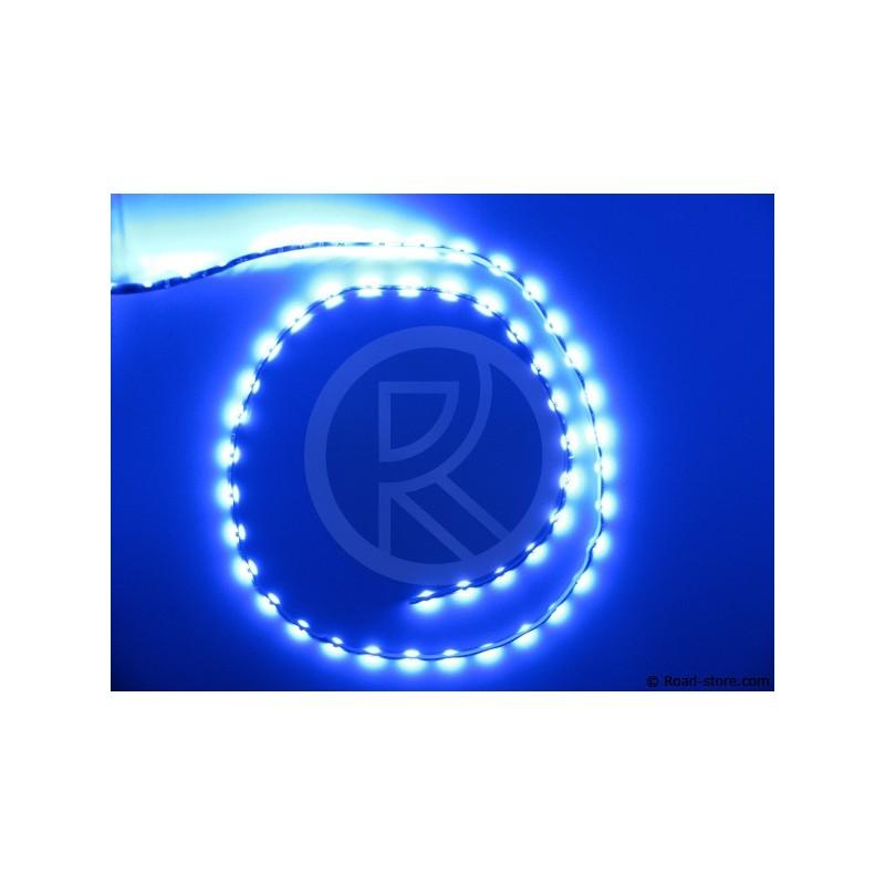 Bande flexible adh 54 leds 90cm 12v bleu road store - Bande led 12v ...