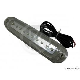 Feu 10 LEDS 10-30V blanc pour barres de toit et frontale/latérale