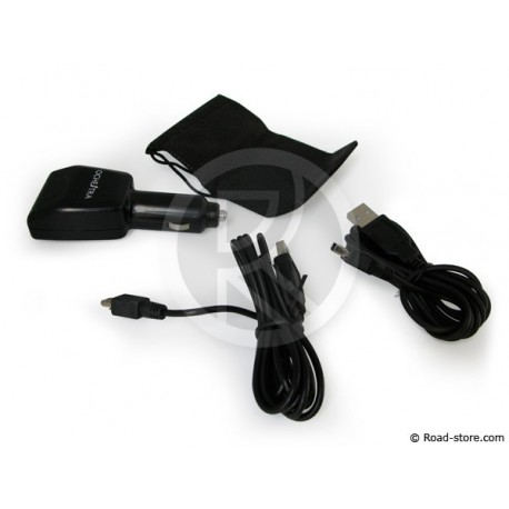 CHARGEUR NINTENDO DS LITE/DSi/DSi XL 2 PORTS USB 12V
