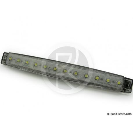 Seite Smarts 12 LED/vorderes Kennzeichenlicht - 24V - Weiß