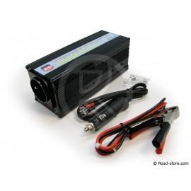 Konverter 12V/230V/400W + USB Anschluss