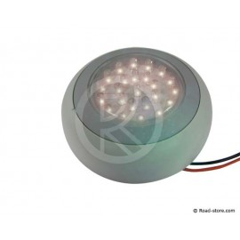 PLAFONNIER 24 LEDS 24V 2 COULEURS DIAM. 10CM