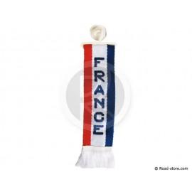 """FANION CABINE A FRANGES """"FRANCE"""" 5 x 22 CM"""