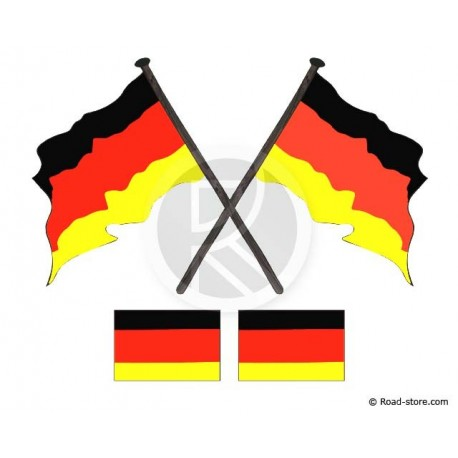 Flags 4x Germany