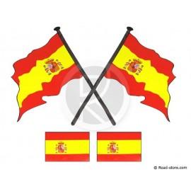 FAHNEN 4x SPANIEN