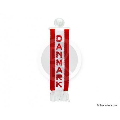 "FANION CABINE A FRANGES ""DANMARK"" 5 x 22 CM"