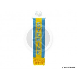 Mini-Scarf Sverige 5x22cm