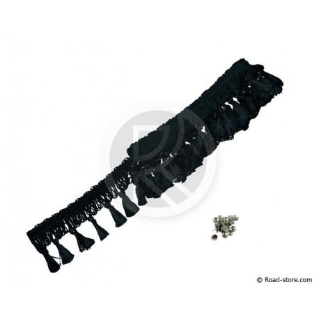 Fringes Cabin 2,50 M Black