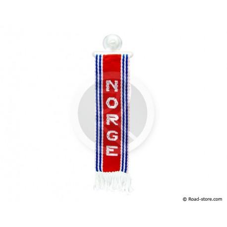 """FANION CABINE A FRANGES """"NORGE"""" 5 x 22 CM"""