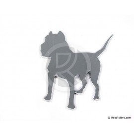 "DECORATION ""CHIEN"" ADH CHROME X 1 PIECE"