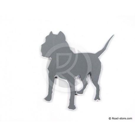 Chromed adhesive bulldog strips 3D