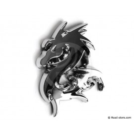 "DECORATION ""DRAGON"" ADH CHROME  x 1 pice"