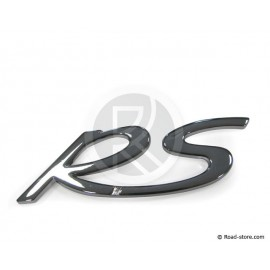 "DECORATION ""RS"" ADH CHROME 11 CM"