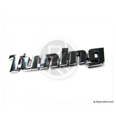 Verchromte Dekoschilder - TUNING - selbstklebend - 3D