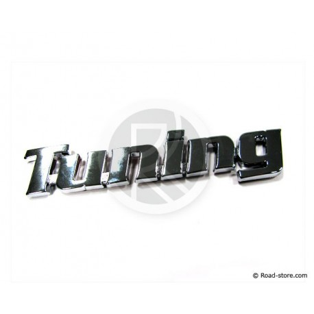 Chromed adhesive TUNING strips 3D