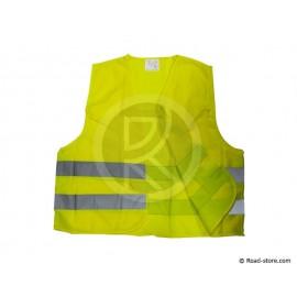 GILET DE SECURITE REFLECHISSANT JAUNE M-XXL