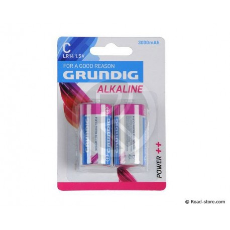 Batterie LR14 C 1,5V GRUNDIG BLISTER x 2