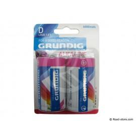 Batterie LR20 D 1,5V GRUNDIG BLISTER x 2