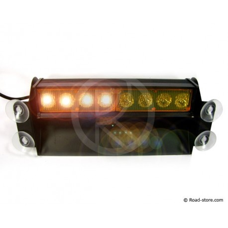 Warning Light 8 LEDS 24V 3 POSITIONS