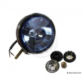 Long Span Headlight Blue 12V H3 55W Small model without crown