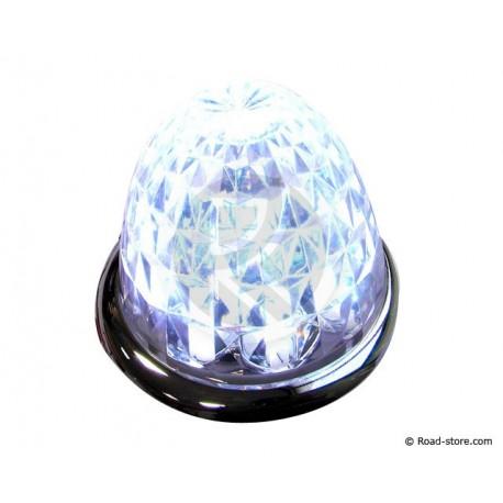 DEKORATION DIAMOND 9 LED 24V WEISS
