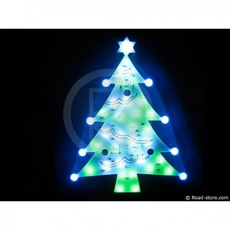 DECORATION SAPIN LUMINEUX CLIGNOTANT A LEDS 24V