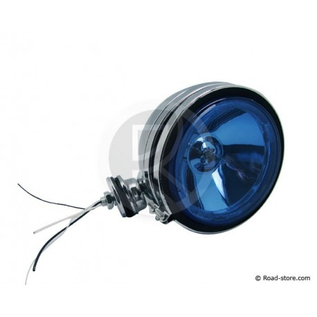 Headlight long range Blue with Crown - 12V H3 55W
