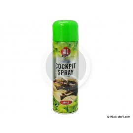 BOMBE COCKPIT SPRAY POMME 225ML