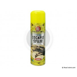 BOMBE COCKPIT SPRAY CITRON 225ML
