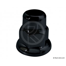 Truck nut caps Black 32mm x10