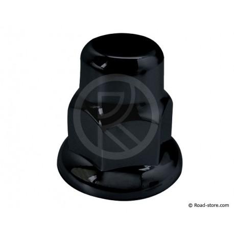 Radmutterkappen Schwarz 32mm x10