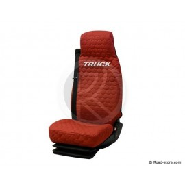 Seat Cover Red for truck IVECO