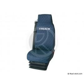 Universal Sitzbezüge Blau für Lkw DAF