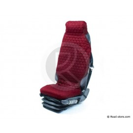 Universal Sitzbezüge Rot für Lkw