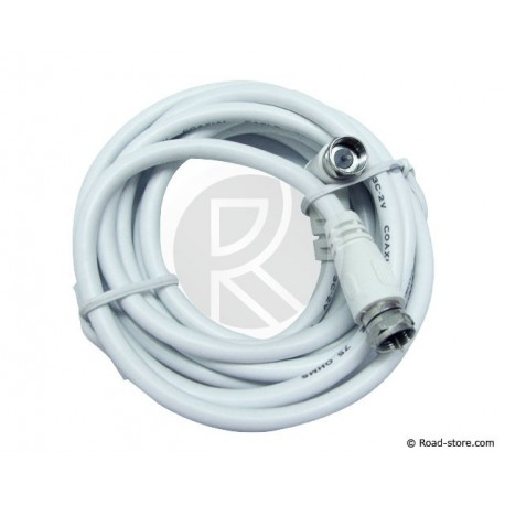 Extension Cable COAXIAL for ANTENNA TV 2M