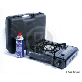 Gas stove in suitcase