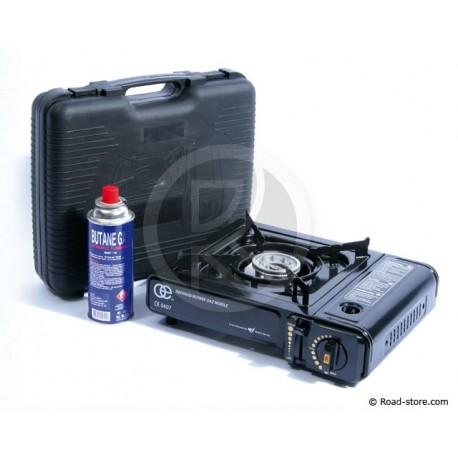 Butane gas heater in case