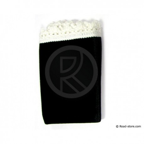 Carpet Dashboard 51 x 29 cm Black/White