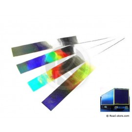 RUBAN REFLECHISSANT 4 X 50CM CHROME