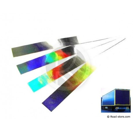 Reflective Tape 4 X 50 cm Chrome