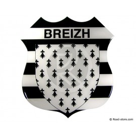 "SELF-ADHESIVE EMBOSSED STICKER ""BREIZH"""